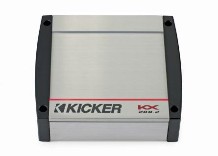 KICKER 2-Kanal Verstärker digital Class D 2CH Amplifier KX200.2