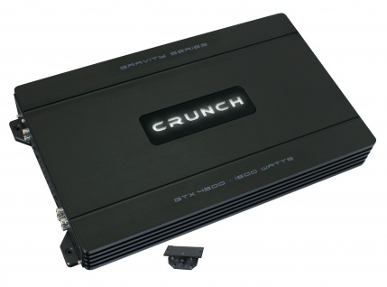 CRUNCH GRAVITY 4-Kanäle Verstärker Endstufe Auto PKW KFZ GTX-4800