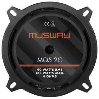 MUSWAY 2-Wege System MQ-5.2C System Auto Car PKW Hifi Boxen Lautsprecher Paar - Vorschau 5