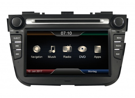 ESX Naviceiver VN710-KI-SORENTO KIA Sorento XM 10/2012-2014 DVD Bluetooth Navi