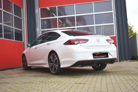 Friedrich Motorsport 76mm Duplex Sportauspuff Opel Insignia Grand Sport 1.6l