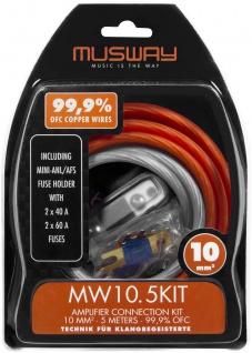 MUSWAY Kabelkit 10 mm² MW10.5KIT Kabelkit 10 mm²