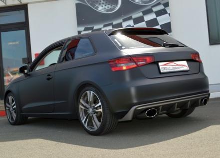 Friedrich Motorsport Gruppe A Duplex Sportauspuff Anlage Audi A3 8V 3-Türer
