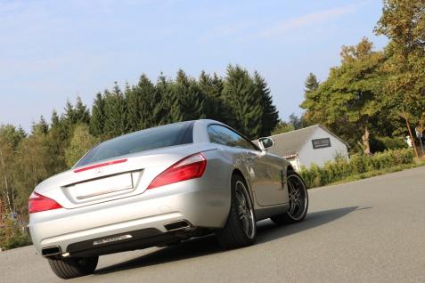 Fox Duplex Auspuff Sportauspuff Komplettanlage Mercedes SL R231 3, 5l 225kW - Vorschau 2