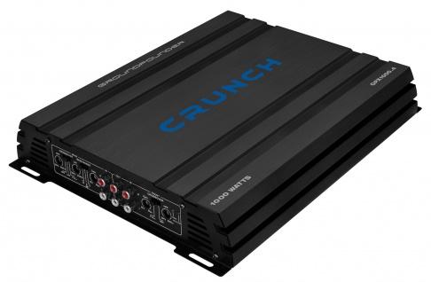 CRUNCH Car-Hifi Verstärker Endstufe 4-Kanal KFZ Auto Amp 1000 Watt GPX-1000.4