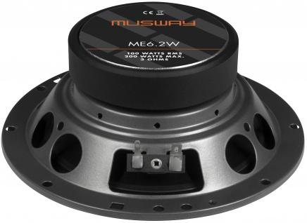 Musway Woofer 16, 5 Cm Me-6.2w System Auto Car Pkw Hifi Boxen Lautsprecher Paar - Vorschau 3