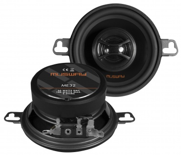 MUSWAY KOAX 8, 7 cm ME-32 System Auto Car PKW Hifi Boxen Lautsprecher Paar