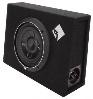 ROCKFORD FOSGATE PUNCH Subbox P3S-1X8 20cm Subwoofer Bassbox 150 WRMS 4 Ohm