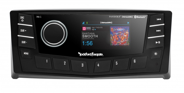 ROCKFORD FOSGATE Marine PMX-5CAN Digital Media Receiver mit 6, 8cm Farb Display