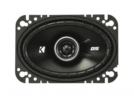 "Kicker 4x6"" Koax-ls Dsc460 2-wege Koax Lautsprecher Boxen Auto Kfz Pkw Paar - Vorschau 1"