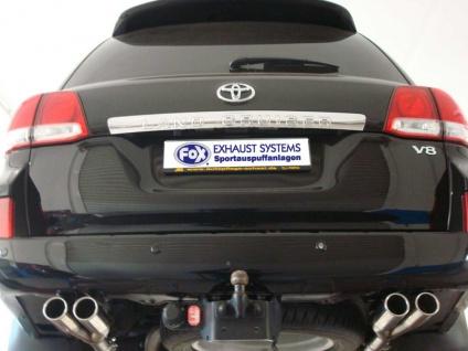 Fox Duplex Sportauspuff Halbanlage Toyota Land Cruiser J20 4, 5l D 195/210kW