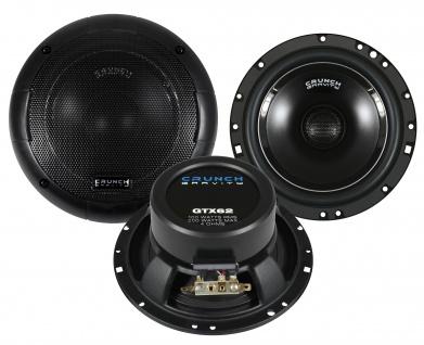 CRUNCH GRAVITY KOAX GTX-62 16, 5cm Lautsprecher Auto Boxen Set 200 Watt PKW KFZ