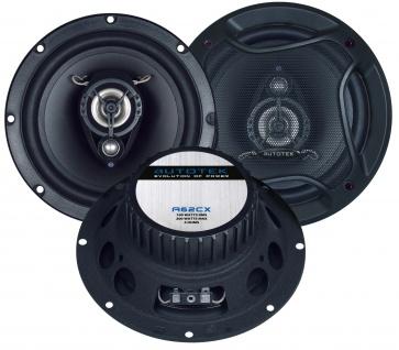 AUTOTEK Koax-System 16, 5cm Lautsprecher 2-Wege Koax A62CX 400 Watt max.Paar