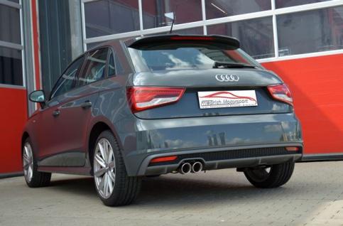 Friedrich Motorsport Gruppe A Sportauspuff Auspuff Anlage Audi A1 und Sportback