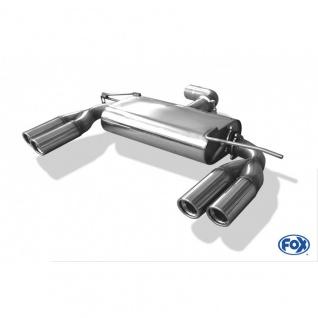 "Fox Duplex Auspuff Sportauspuff VW Golf V - GTI "" Edition 30"" 2, 0 FSI Turbo 169kW"
