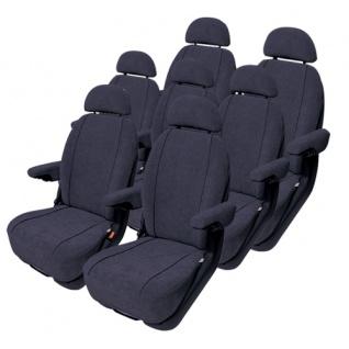 Van Sitzbezug Sitzbezüge Auto PKW Profi Schonbezug Toyota Avensis Verso - Vorschau