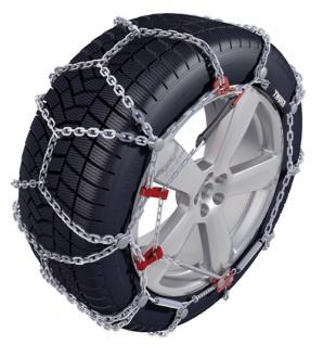 KÖNIG THULE Schneeketten PKW SUV XD-16 Kettengruppe 240 - Reifengröße 225/75 R15