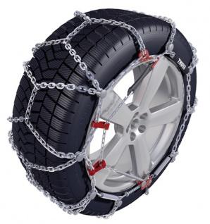 KÖNIG THULE Schneeketten PKW SUV XD-16 Kettengruppe 255 - Reifengröße 235/65 R18