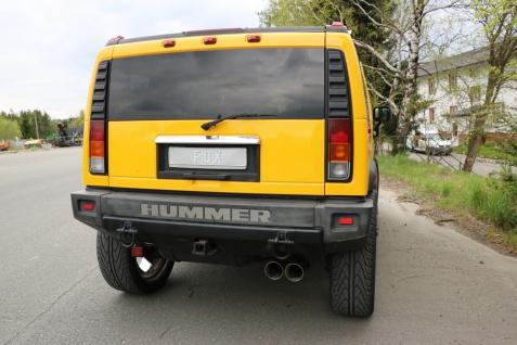 Fox Auspuff Sportauspuff Sportendschalldämpfer Hummer H2 6, 0l 236kW