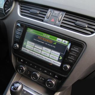 ESX Naviceiver VNS830-SK-OC3 Skoda Octavia 3 2013-2016 2-DIN Autoradio Radio TFT