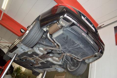Friedrich Motorsport 2x76mm Duplex Auspuff Sportauspuff Mercedes R231 SL-Klasse