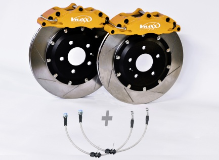 V-Maxx Big Brake Kit 330mm Bremsanlage Bremsen Set Fiat 124 Spider 348 Bj.03.16-