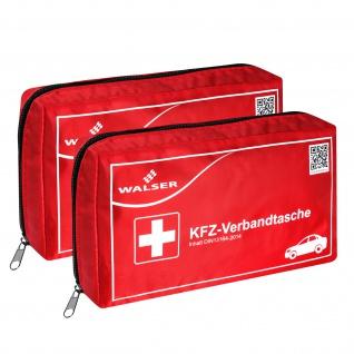 2x Verbandtasche Verbandstasche Erste-Hilfe Verbandskasten PKW DIN13164 ROT