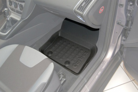 Carbox FLOOR Fußraumschale Gummimatte Fußmatte Ford Focus Turnier vorne rechts