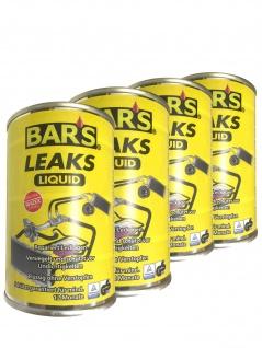4x Dr. Wack BARS Leaks Liquid Kühlerdichtung Kühlerdichtmittel 150g