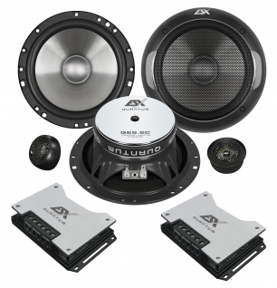 ESX QUANTUM 2-Wege System QE-6.2C Lautsprecher Set Auto Boxen Paarpreis