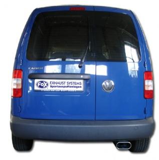 Fox Auspuff Sportauspuff Endschalldämpfer VW Caddy 3 1, 9l TDI 55/77kW Bj.04-