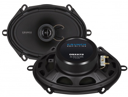 CRUNCH DEFINITION KOAX DSX572 Lautsprecher Auto Boxen Set 160 Watt PKW KFZ