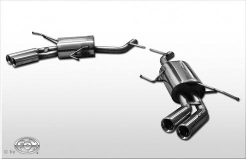 Fox Duplex Auspuff Sportauspuff Sportendschalldämpfer Mercedes G-Klasse - X164