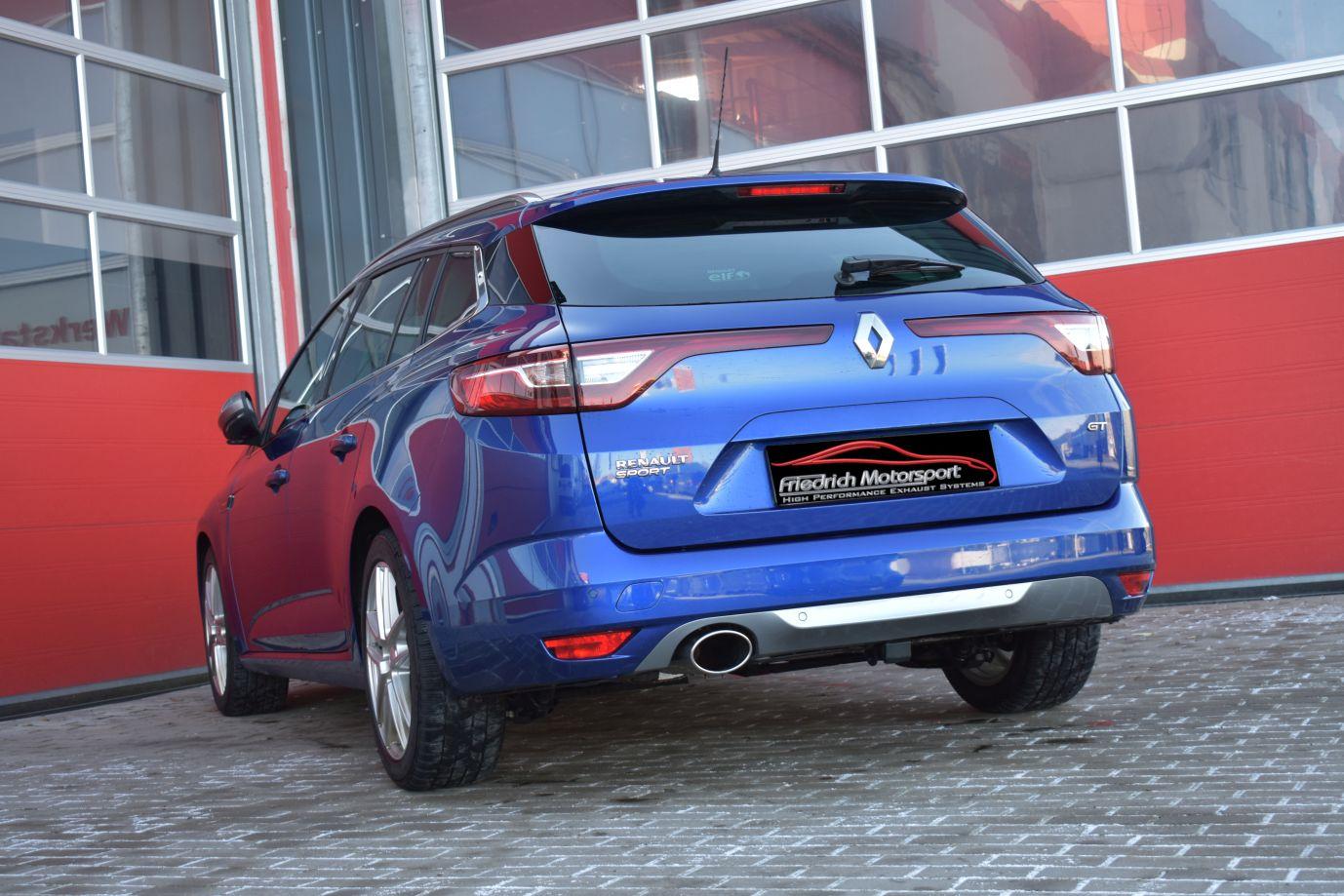 Friedrich Motorsport 76mm Sportauspuff Auspuff Anlage Renault Megane 4 Grandtour Kaufen Bei Aze Tuning Gmbh Co Kg