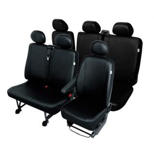 VW LT Transporter Sitzbezüge Einzelsitz Doppelsitz und Dreierbank Profi 2