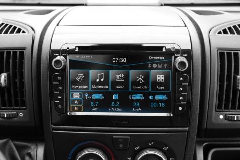 ESX Naviceiver VNC730-FI-DUCATO-DAB mit 3 Jahre Update Bluetooth Navi DVD CD