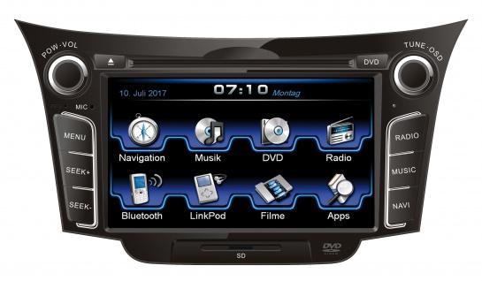 ESX Naviceiver VN710-HY-I30 Hyundai i30 GD 11-2016 DVD Bluetooth Navi Multimedia