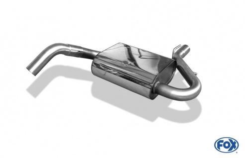 Fox Mittelschalldämpfer Auspuff Sportauspuff VW Golf III