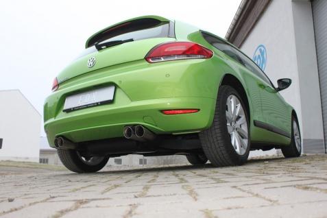 Fox Duplex Auspuff Sportauspuff Komplettanlage VW Scirocco 3 2, 0l TFSI 147kW