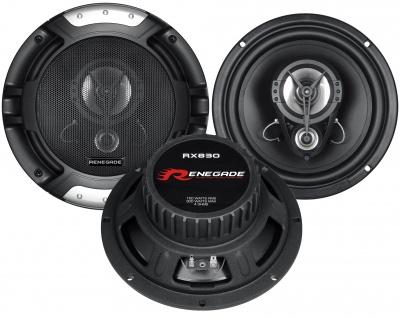 RENEGADE 3-Wege Triax 8 RX-830 20cm 3-Wege Auto Lautsprecher Boxen PKW 300 Watt