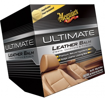 Meguiars Ultimate Leather Balm Lederpflege Lederschutz Auto-Pflege G18905EU 142g