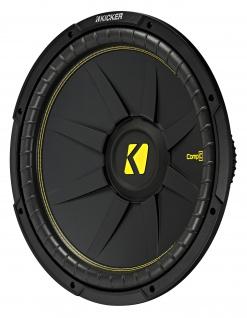 "KICKER 12"" Woofer CompD122 30cm Auto Hifi Subwoofer Bassbox 600 Watt MAX"