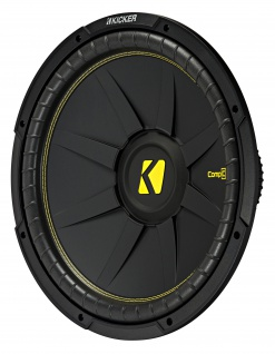 "KICKER 15"" Woofer CompC154 38cm Auto Car Hifi Subwoofer Bassbox 1200 Watt MAX"