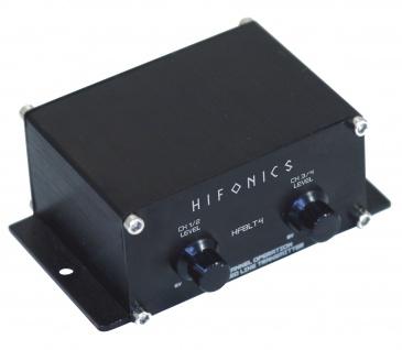 HIFONICS Symmetrischer Line Übertrager HFBLT4 Balanced Line Transmitter Endstufe