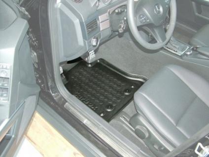 Carbox FLOOR Fußraumschale Gummimatte Fußmatte Mercedes GLK X-204 vorne links