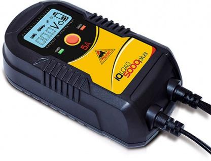 Panther IQLoad 5000 plus Batterie Ladegerät 12V 6V Starthilfe Säurebatterie AGM