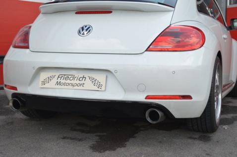 Friedrich Motorsport Duplex Auspuff Sportauspuff Auspuff VW Beetle 5C 1.4 TSI 118kW