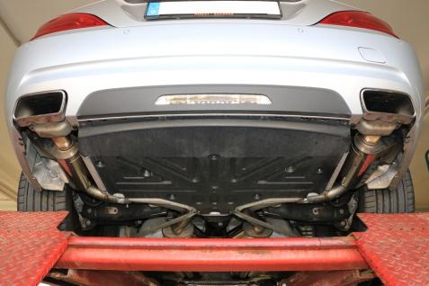 Fox Duplex Auspuff Sportauspuff Komplettanlage Mercedes SL R231 3, 5l 225kW - Vorschau 3