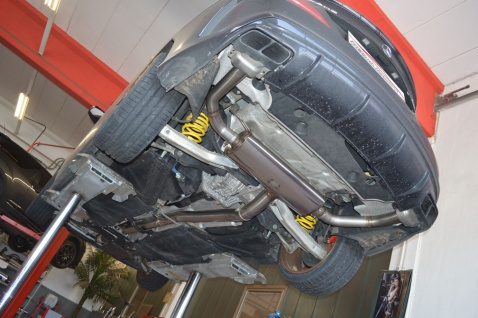 Friedrich Motorsport 90mm Auspuff Sportauspuff Mercedes C/X117 CLA-Klasse
