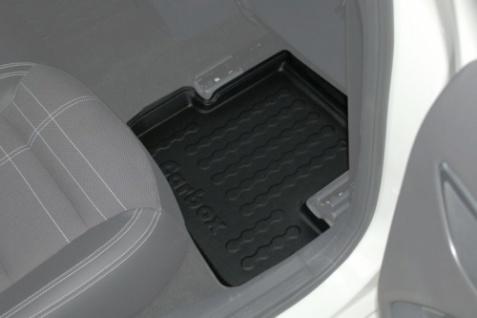 Carbox FLOOR Fußraumschale Gummimatte Fußmatte Mercedes A-Klasse hinten rechts